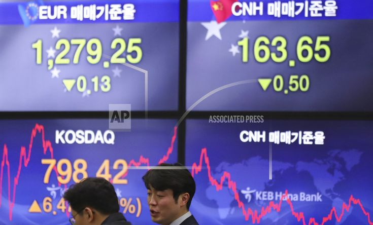 SEOUL, South Korea/December 28, 2017 (AP)(STL.News) – Asian stock markets mostly drifted higher on Friday after Wall Street finished with modest gains. KEEPING SCORE: Japan's Nikkei 225 rose 0.3 percent to 22,841.64 and China's Shanghai Composite Index added 0.2 percent to 3,302.01. H... Read More Details: https://www.stl.news/asian-stocks-drift-higher-final-trading-day-2017/57906/