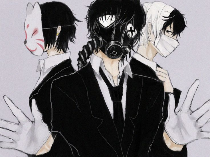 58 best Anime: Gas mask images on Pinterest | Anime boys ...