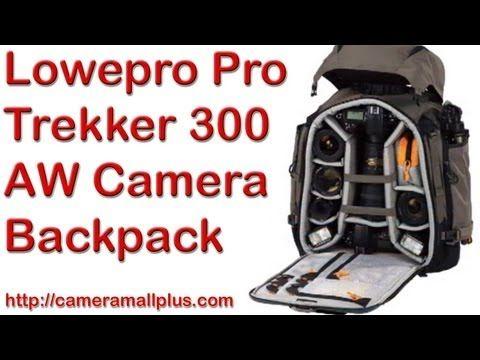Lowepro Pro Trekker 300 AW Camera Backpack (Mica/Black)