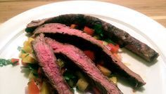 Grilled Flank Steak with Pineapple Salsa Recipe - Paleo Plan