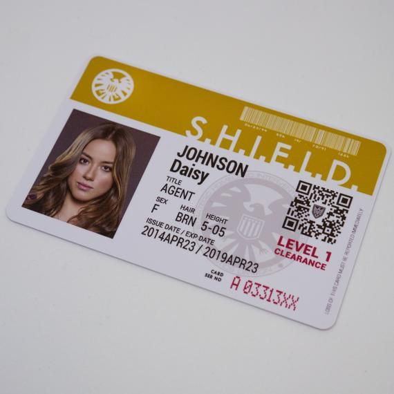 Marvel Agents Of Shield Tv Show Novelty Id Badge Phil Etsy In 2021 Marvel Agents Of Shield Agents Of Shield Grant Ward