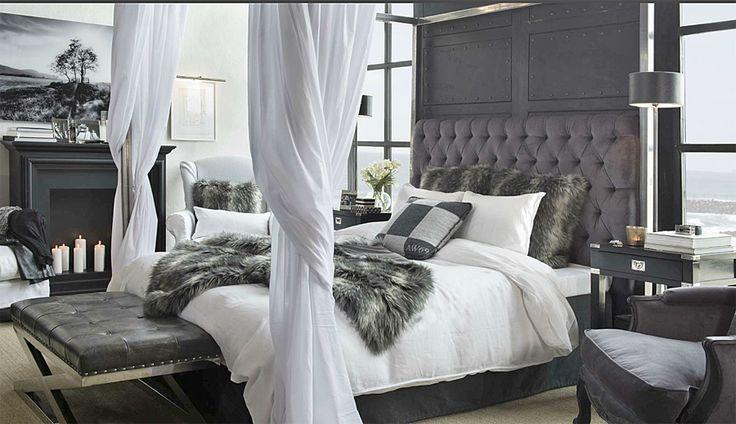 Artwood London Velvet Grey