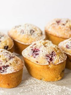 Vegetarian Low FODMAP Recipe  and Gluten Free Recipe - Raspberry & Lemon Friands