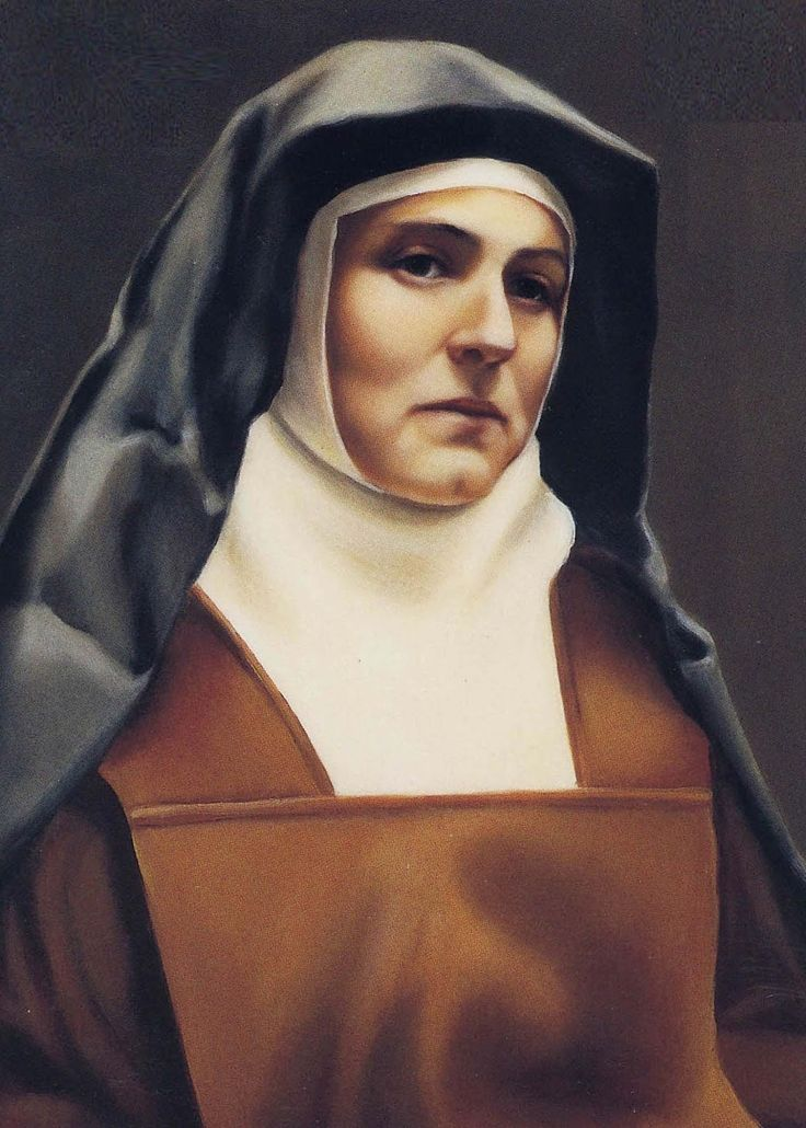 August 9 – Happy Memorial of St Edith Stein OCD – Religious and Martyr of Auschwitz #pinterest #stedithstein St Edith was a brilliant philosopher who stopped believing in God when she was 14, Edith Stein was so captivated by reading the autobiography of Teresa of Avila (October 15) that she began a spiritual journey that led to her Baptism in 1922. Twelve years later she imitated Teresa by becoming a Carmelite........