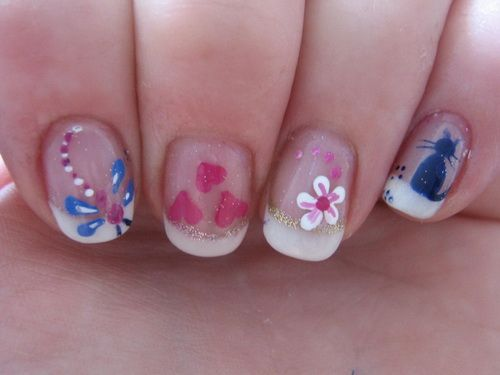 Nail Designs Ideas For Kids HD Wallpaper