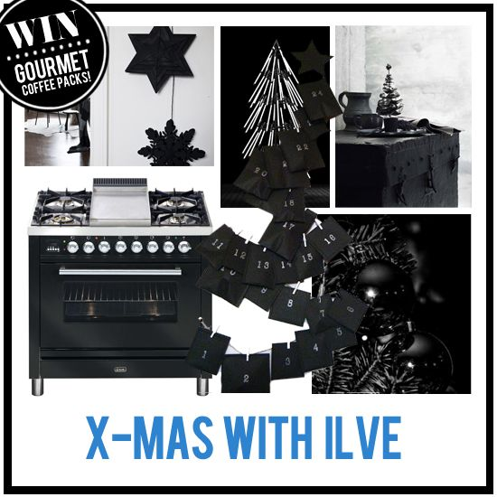 There's only a few days to left to enter the Xmas with ILVE Pinterest competition and be in the running to win an ILVE Coffee Machine and gourmet coffee pack from Avanti and Campos.  To enter, head over to the Xmas with ILVE Comp board for more info.  Winner announced on Mon 23rd Dec.