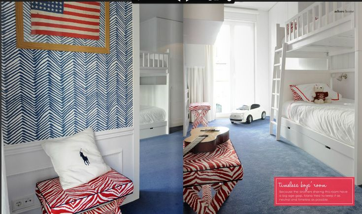 Nursery Notations: Kids Rooms in Adore Magazine, designed by Maria Barros