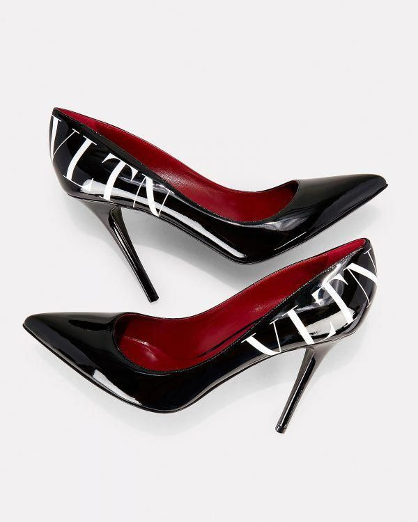 731a9696aa80 Gorgeous Valentino VLTN Pumps in Monochrome Colors - HighHeelseek ...