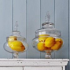 Glass Bon Bon Jars
