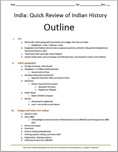 geography of india essay