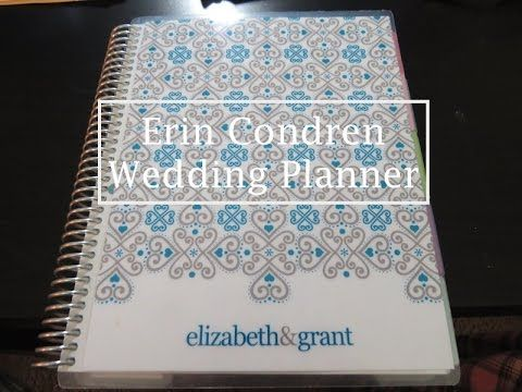 NEW VIDEOS EVERY SATURDAY Leave your video requests in the comments section! Today I am finally showing you my Erin Condren Wedding Planner Our wedding date ...