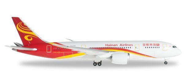 1/500 Herpa Hainan Airlines Boeing 787-8 Dreamliner Diecast Model