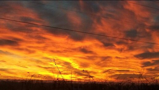 Beautiful Walla Walla, WA sunset