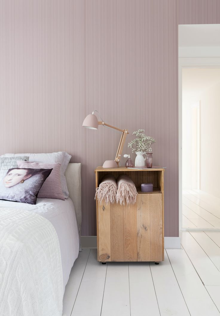 Pink wallpaper/behang Intenz - BN Wallcoverings