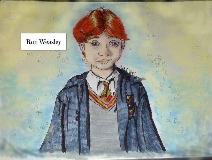 Ron Weasley recoloured version by HTChili.deviantart.com on @DeviantArt