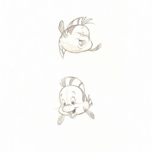Flounder https://www.facebook.com/CharacterDesignReferences