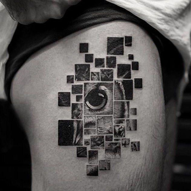 #Tattoo by @balazsbercsenyi #⃣                                                                                                                                                                                 Más