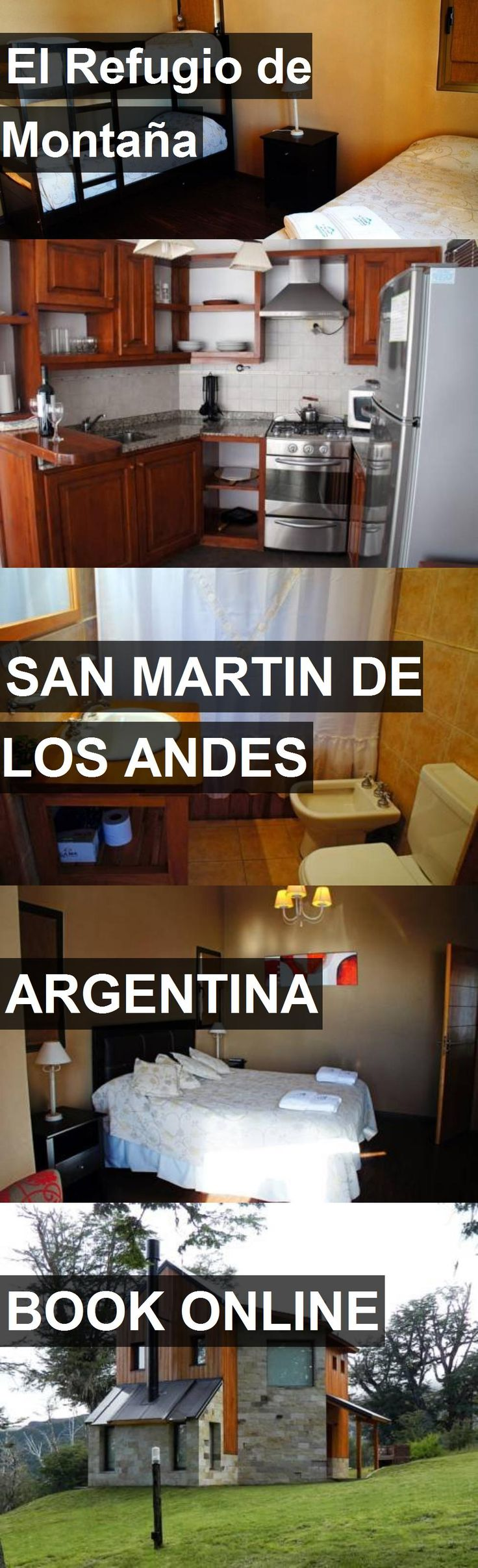 Hotel El Refugio de Montaña in San Martin De Los Andes, Argentina. For more information, photos, reviews and best prices please follow the link. #Argentina #SanMartinDeLosAndes #travel #vacation #hotel