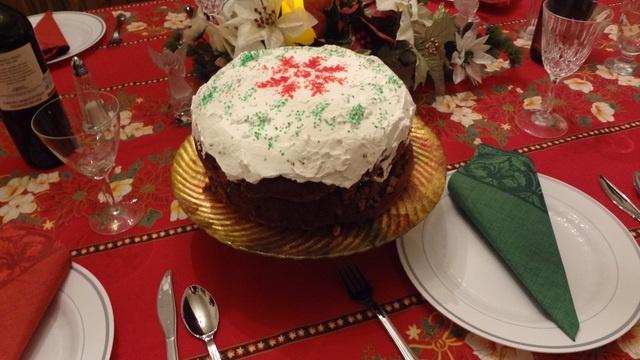 Torta praliné de calabaza. Ver la receta http://www.mis-recetas.org/recetas/show/33872-torta-praline-de-calabaza