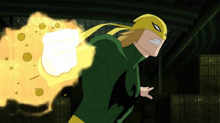 ultimate spiderman iron fist | Iron Fist - Ultimate Spider-Man Animated Series Wiki