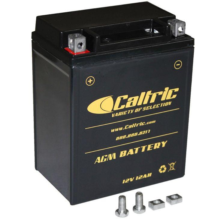 Agm battery for polaris sportsman 500 4x4 ho 20012005