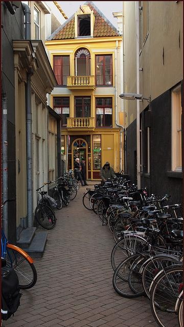 Groningen: the bike rules the city