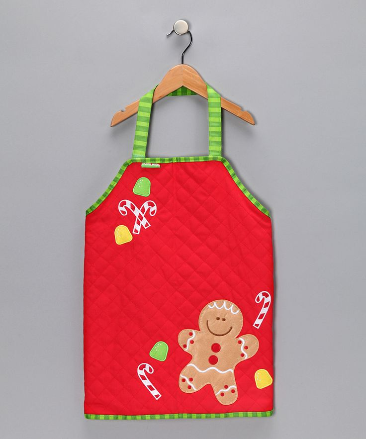 Gingerbread Quilted Apron