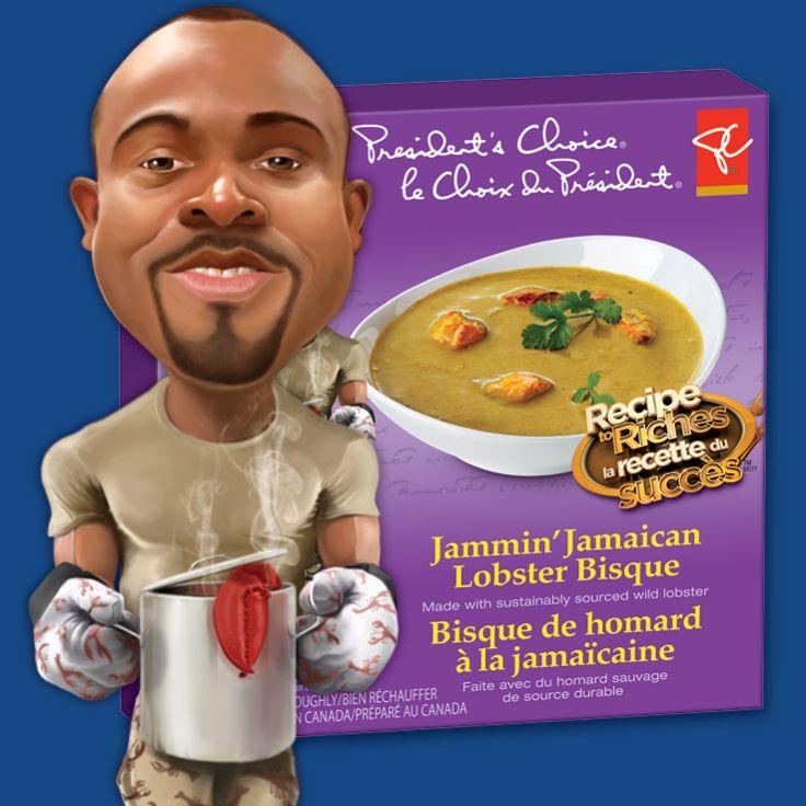 Jammin' Jamaican Lobster Bisque #RecipeToRiches