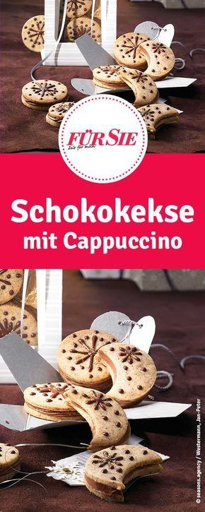 Rezept für Schokokekse mit Cappuccino - Weihnachtsplätzchen