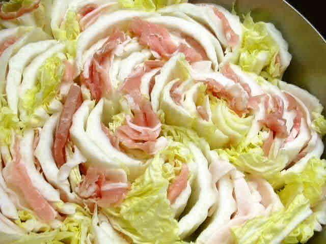 白菜と豚のミルフィーユ鍋 お勧めの食べ方の画像