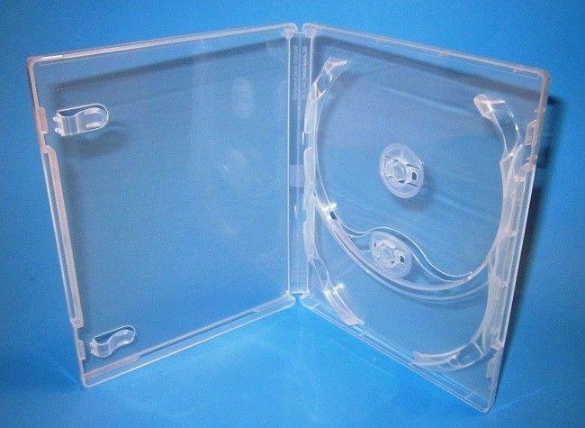 1000 OPP Resealable Plastic Wrap Bags for Slim 5.2mm CD Jewel Case Peal /& Seal