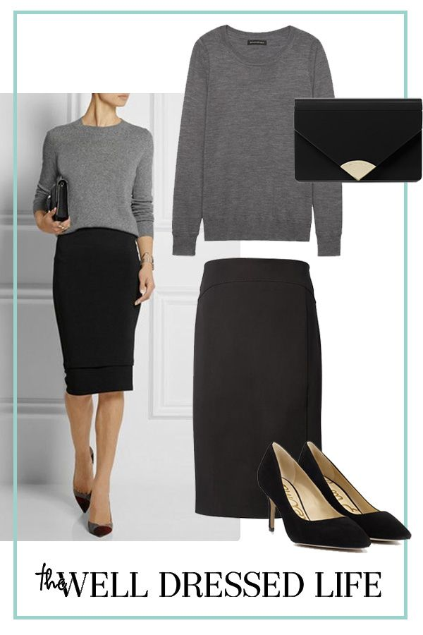 Wear to Work: Less is More - The Well Dressed Life