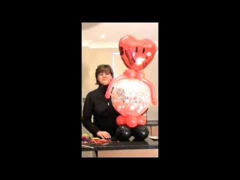 Valentine's Balloon Character Step by Step by Sue Bowler