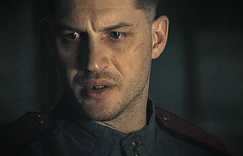 Tom Hardy in Child 44. From the trailer which can be watched in HD here.