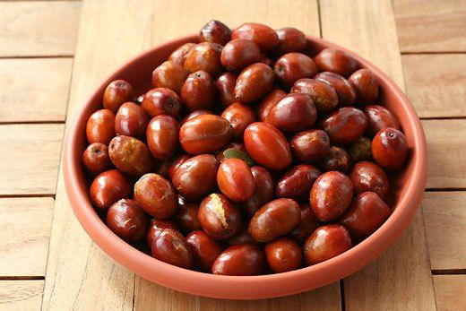 Chinese red dates for insomnia and blood deficiency