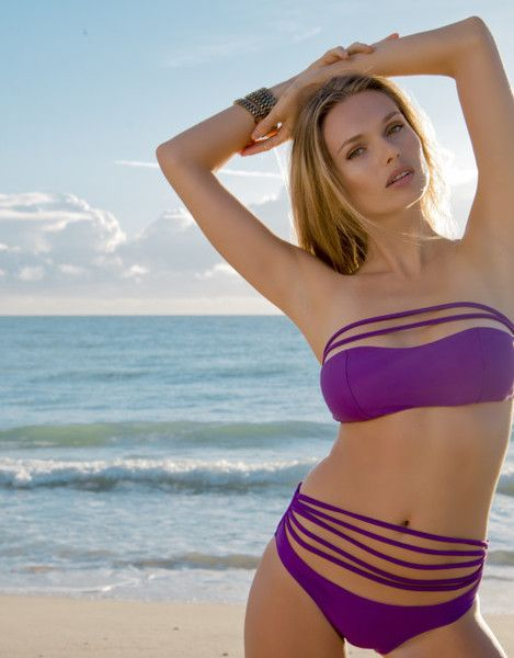 DayDreamer Bikini- Meet me in Dream Land! This strapless bikini gives you support and a whole lot of sexy wrapped up in one! #kevajbikini