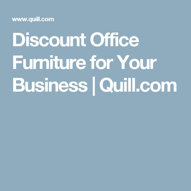 Discount Office Furniture for Your Business   Quill.com