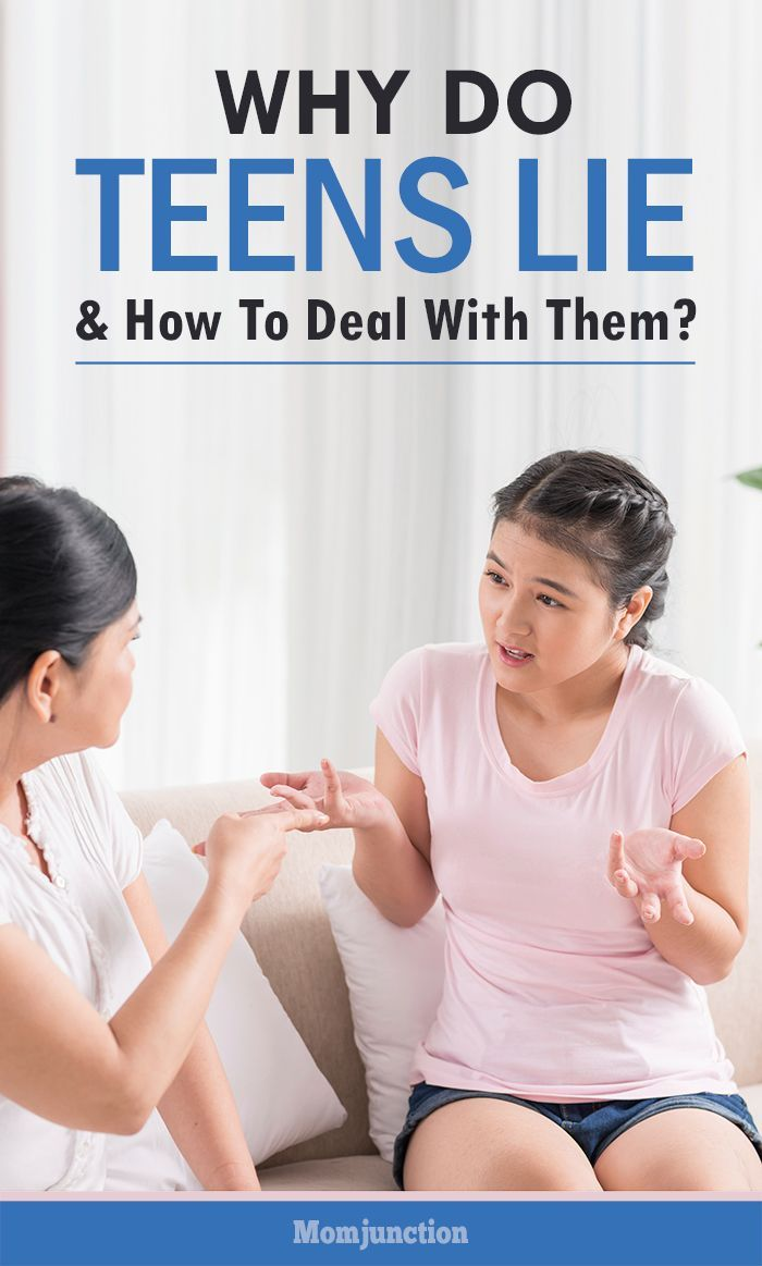 Why Do Teens Lie & How To Deal With Them?