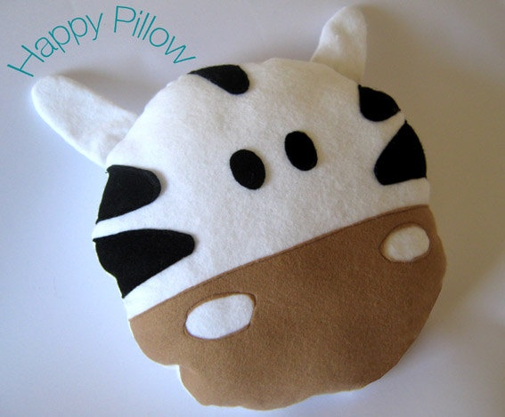 Nursery pillows  felt pillows baby pillows  handmade  by wopashop, $35.00