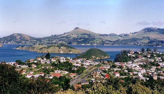 Port Chalmers and Otago Harbour to Otago Peninsula, New Zealand