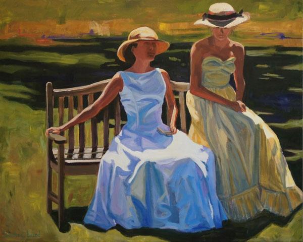 Jeanette Baird's Painting Studio