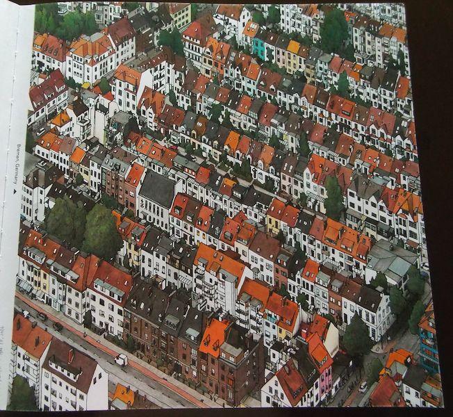 Fantastic Cities Pg1 Bremen Germany Stevemcdonald Fantasticcities GermanyColoring Books