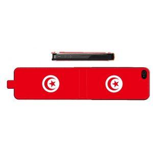 Etui iPhone 5/5S Tunisie - Housse en cuir. #Etui #Cuir #Apple #iPhone #5 #Leather #cover