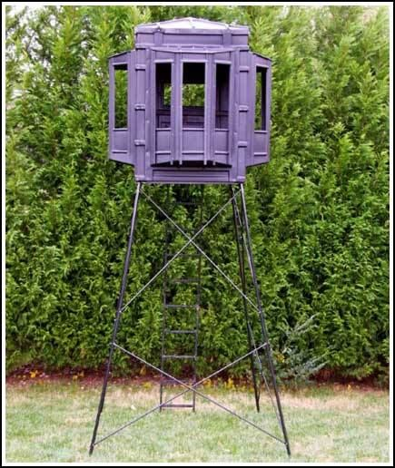 17 best images about hunting blinds on pinterest log for Hunting hut plans