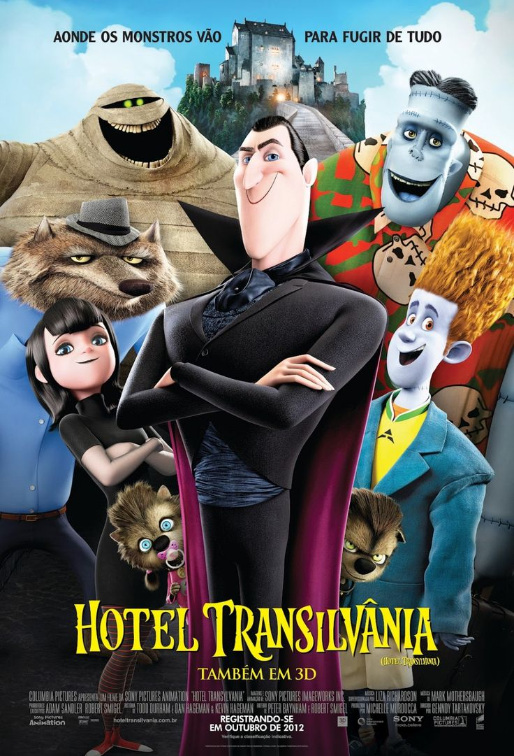 hotel transylvania - Halloween Movies Rated Pg