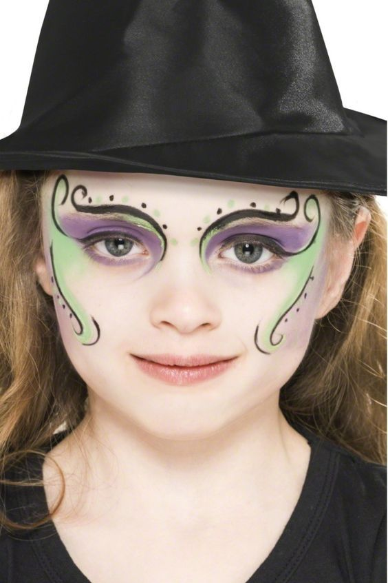 Easy Kid Witch Makeup - Makeup Now