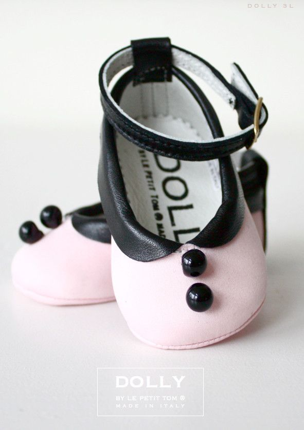 OMG! Shoes for my little girl!  DOLLY by Le Petit Tom ® LUCY DOLL DRESS 3L pink