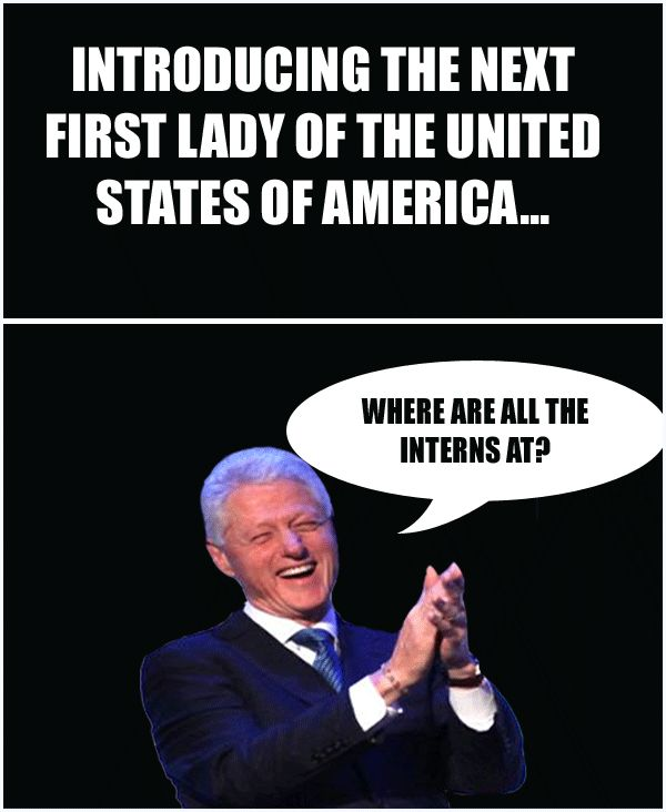 Where Are The Interns At? Funny Bill Clinton Meme | Desktop Backgrounds