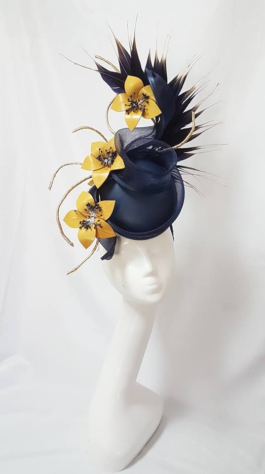 edcbae01f96 Millinery By Mel. Millinery By Mel Sinamay Hats