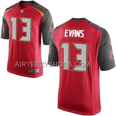 https://www.airyeezyshoes.com/nike-buccaneers-13-evans-red-game-jerseys.html Only$21.00 #NIKE BUCCANEERS 13 EVANS RED GAME JERSEYS #Free #Shipping!